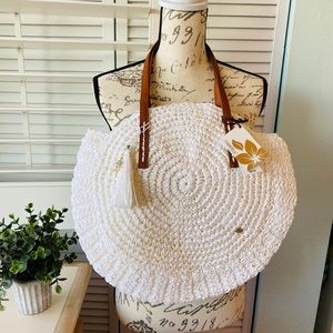 Cappelli Straworld Circular Shoulder Bag